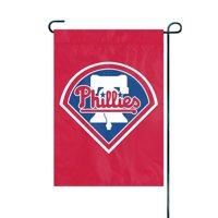 "Philadelphia Phillies 15"" x 10.5"" Applique Garden/Window Flag - No Size"