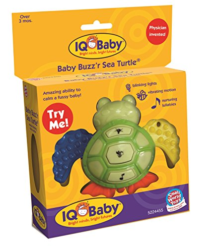 Small World Toys IQ Baby Baby Buzz'r Sea Turtle by Small World Toys