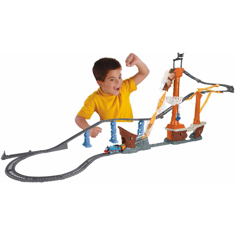 Thomas the train full size sheets - Fisher Price Thomas Amp Friends Trackmaster Shipwreck Rails Set Walmart Com