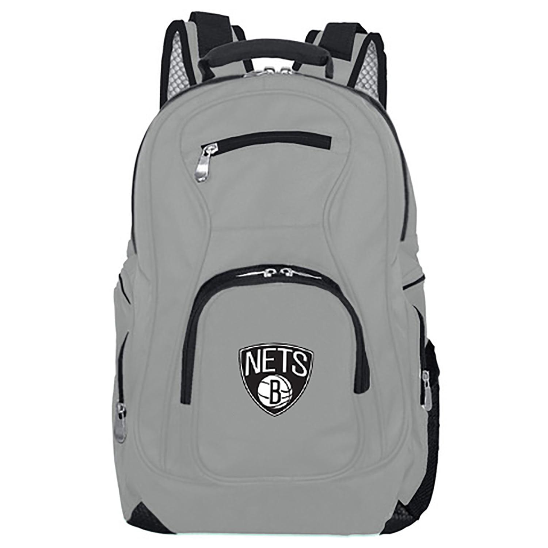 NBA Brooklyn Nets Gray Premium Laptop Backpack
