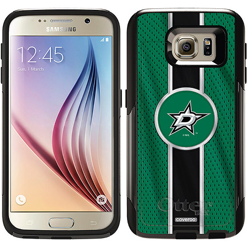 Dallas Stars Jersey Stripe Design on OtterBox Commuter Series Case for Samsung Galaxy S6