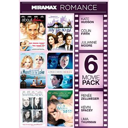 Miramax 6-Movie Pack, Volume 3: About Adam  / My Life So Far / A Month By The Lake / A Price Above Rubies / The Shipping News / A Walk On The Moon