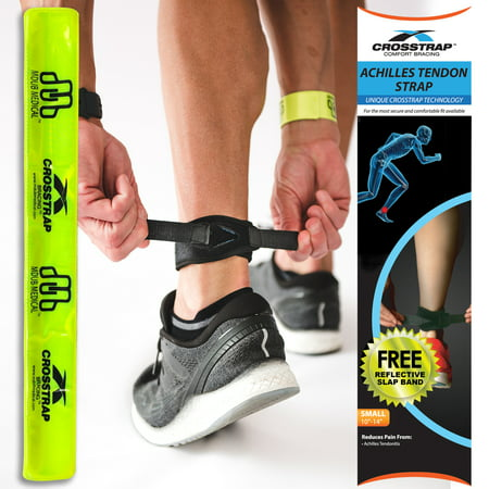CROSSTRAP Achilles Strap, Small | Tendonitis Prevention in Running, Cycling, Hiking and Outdoor Fitness by MDUB
