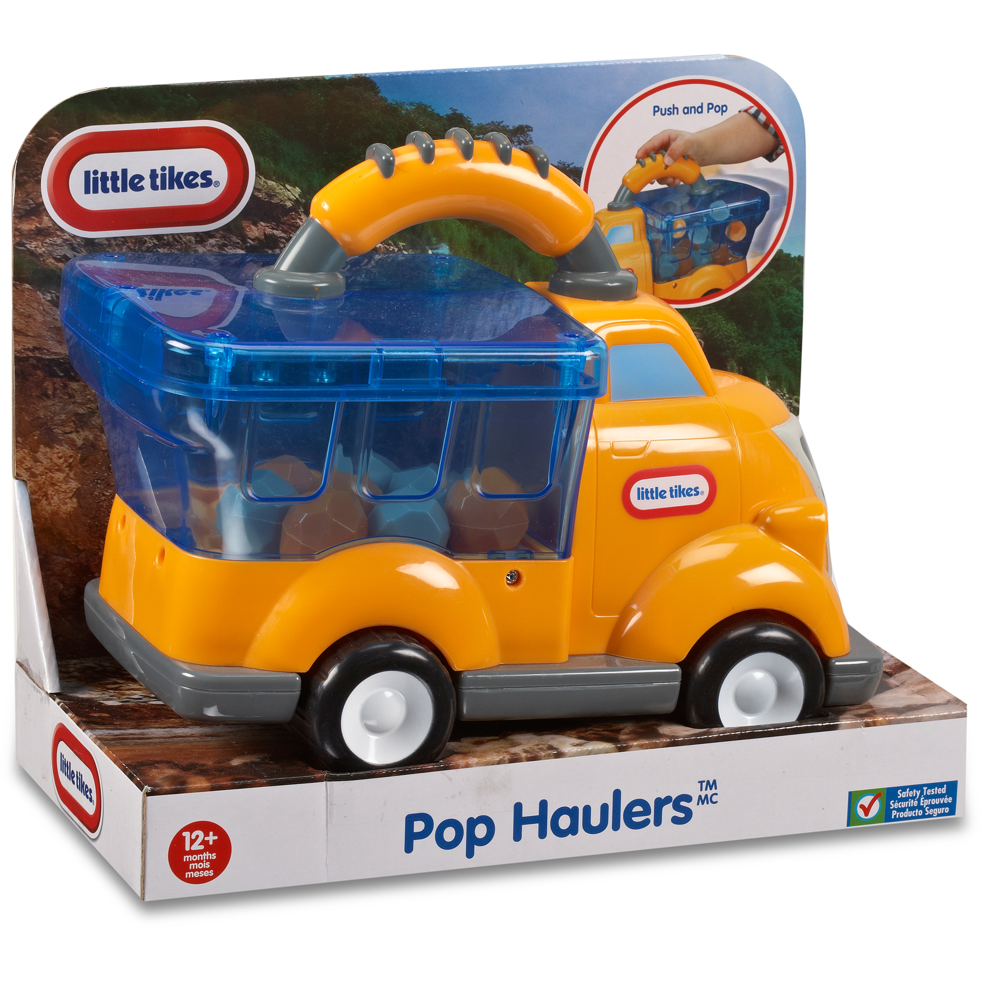 Little Tikes Handle Haulers Pop Haulers, Billy Boulder