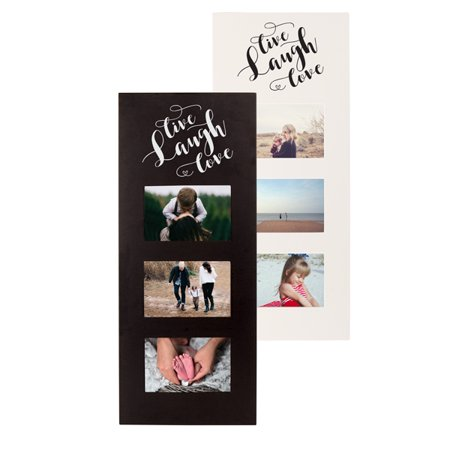Live Laugh Love Multi Photo Frame, Black - Walmart.com