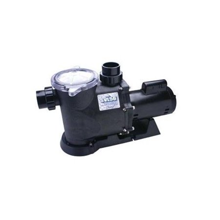 Waterway Plastics SVL56S-120 230V SVL56 High Flow Standard Efficiency Maximum Rated 56 Frame In-Ground Pool Pump
