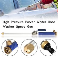 "18"" (46.5cm)Aluminum High Pressure Power Washer Spray Gun Nozzle Home Water Hose Wand Attachment"