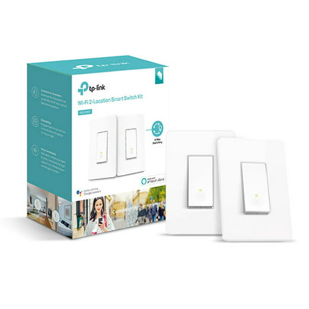TP-Link HS210 In-Wall Smart Switch, No Hub Required, 2-Pack