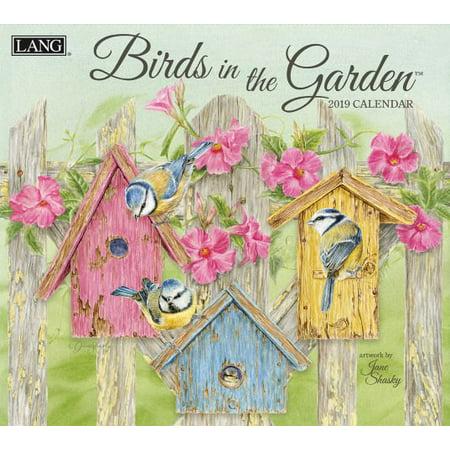 Garden Calendar - 2019 WALL CALENDAR, BIRDS IN THE GARDEN