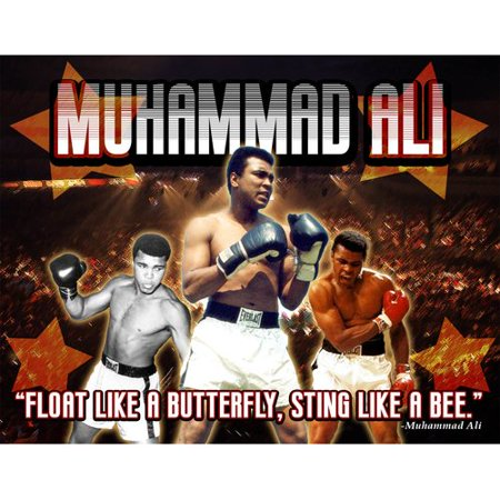 Frames By Mail Muhammad Ali Photographic Print On Wrapped Canvas