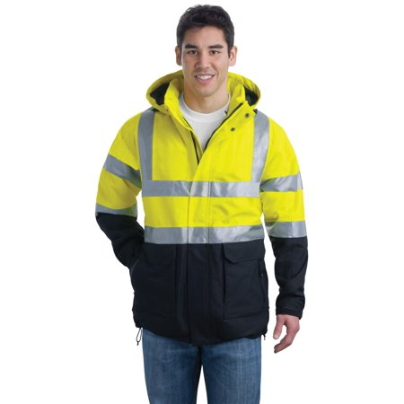 Port Authority ANSI 107 Class 3 Safety Heavyweight Parka