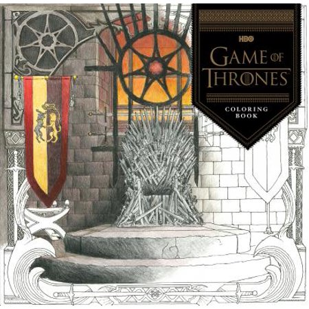 Chronicle Books, Game of Thrones Coloring Book