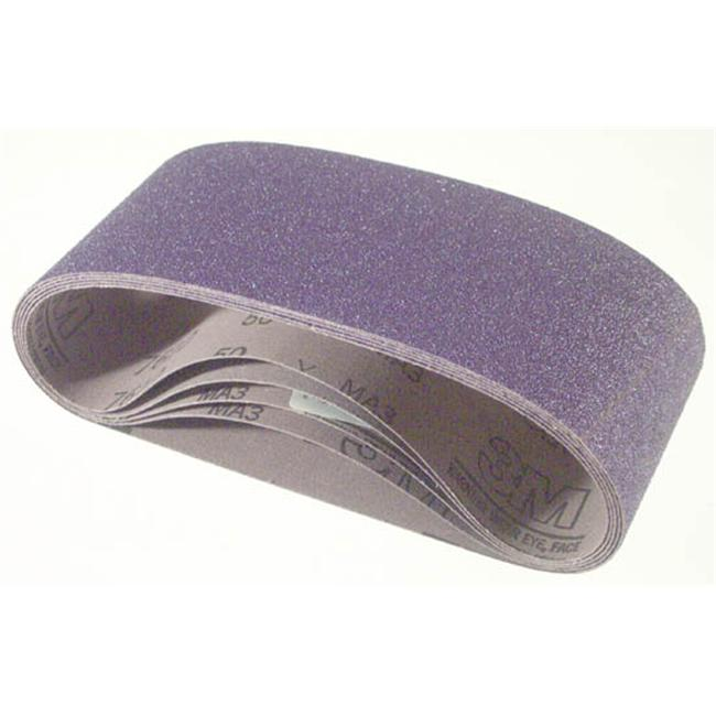 4in. X 24in. 50Y Grade Purple Regalite Resin Bond Cloth Belts  - Pack of 5 - image 1 de 1