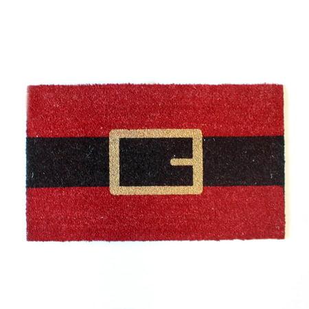 The Royal Standard TRS Santa Belt Coir Doormat 18