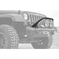 Addictive Desert Designs 07-18 Jeep Wrangler JK Stealth Fighter Top Hoop for 8in Round Lights