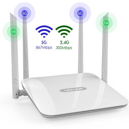 WAVLINK WiFi Router/High Speed WiFi Range Extender/Coverage Up to 1200Mbps with 5GHz Gigabit Dual Band Wireless Internet Router[2019
