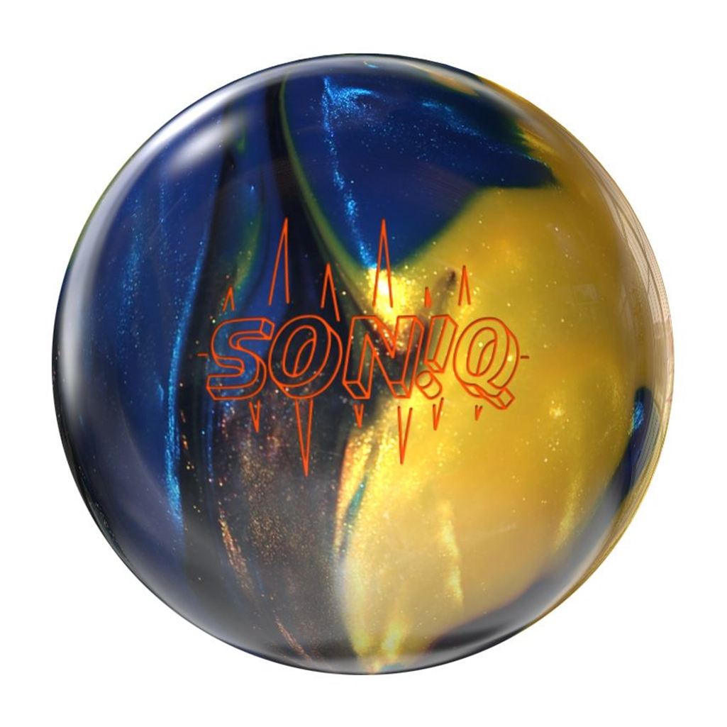 Storm Soniq Bowling Ball- Blue Bronze Gold (12lbs) by Storm Bowling Products