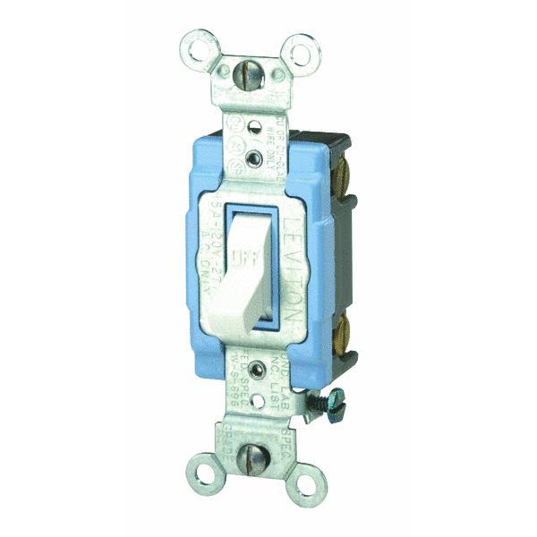 Leviton Commercial Grade Toggle Single Pole Switch