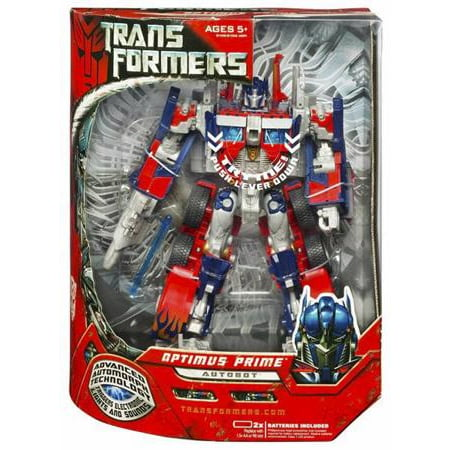 Transformers Movie Leader Optimus Prime Action