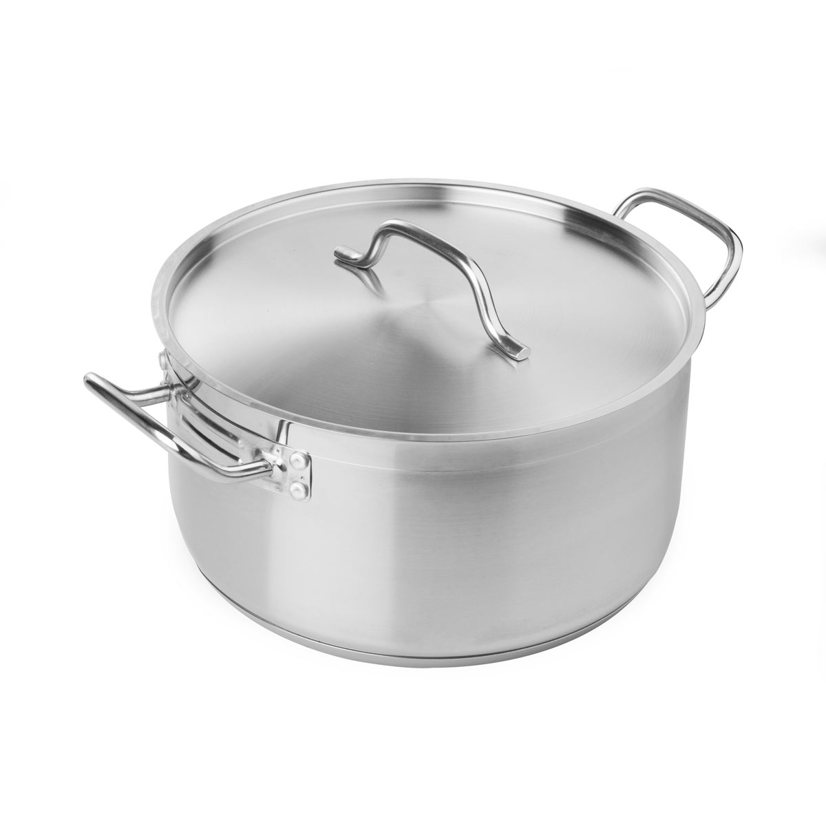 8 Qt. Induction-Ready Stainless Steel Braiser by