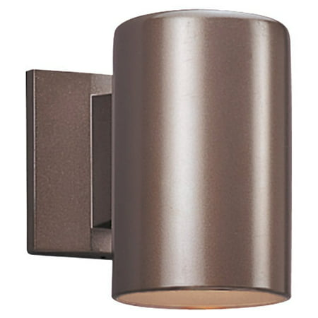 Sea Gull Lighting 8938DBLE-10 Dark Sky 1-Light Outdoor Wall Mount, Bronze Finish