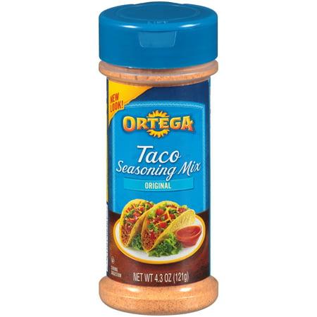 (3 Pack) Ortega Taco Seasoning Mix, 4.3 -