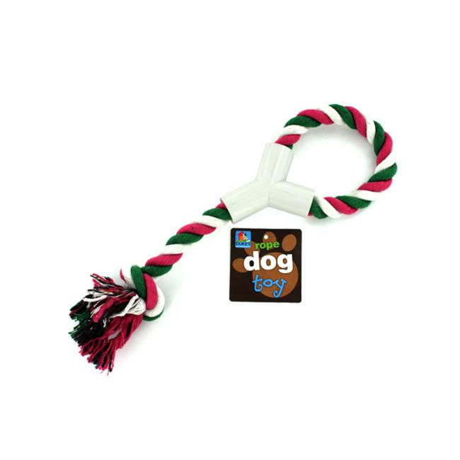 Bulk Buys DI141-24 Y Shaped Plastic Hand Grip Rope Toy - Pack of 24