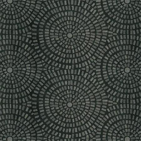 Crypton Panache 9009 Contemporary Contract Woven Jacquard Fabric, Black Tie - image 1 of 1