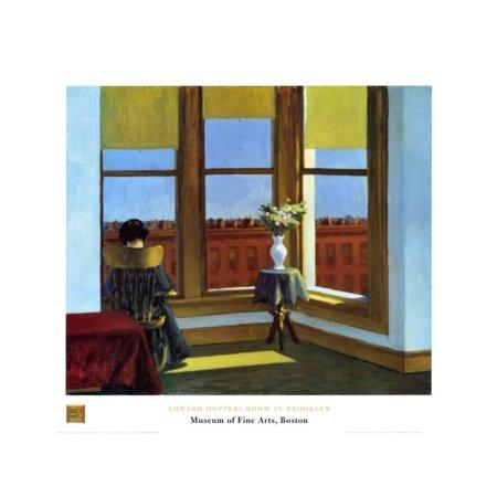 Room In Brooklyn Art Print By Edward Hopper - 31.5x23.5](Good Room Brooklyn Halloween)