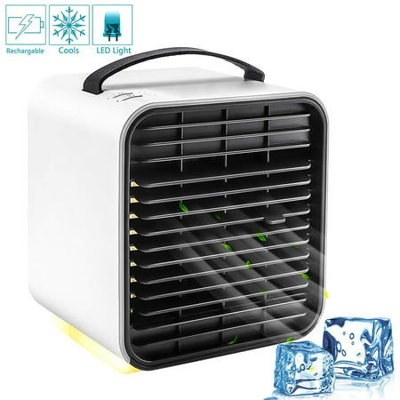 Gohope Personal Air Cooler, Personal Air Conditioner for Office Desk, Small Portable Air Conditioner, Mini Air Conditioner Room Cooler - image 1 of 7