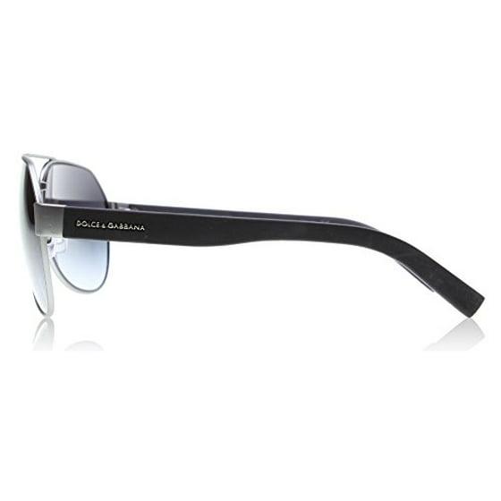 ef3205de29d2 DOLCE   GABBANA - DOLCE   GABBANA Sunglasses DG 2149 12628G Gunmetal Rubber  61MM - Walmart.com