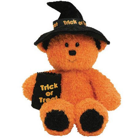 TY Beanie Baby - WITCHY the Halloween Bear (7 inch)