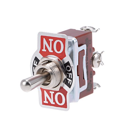 SPDT Rocker Toggle Switch AC 16A 250V 3P (Momentary ON)/OFF/(Latching ON) 2pcs - image 2 of 3
