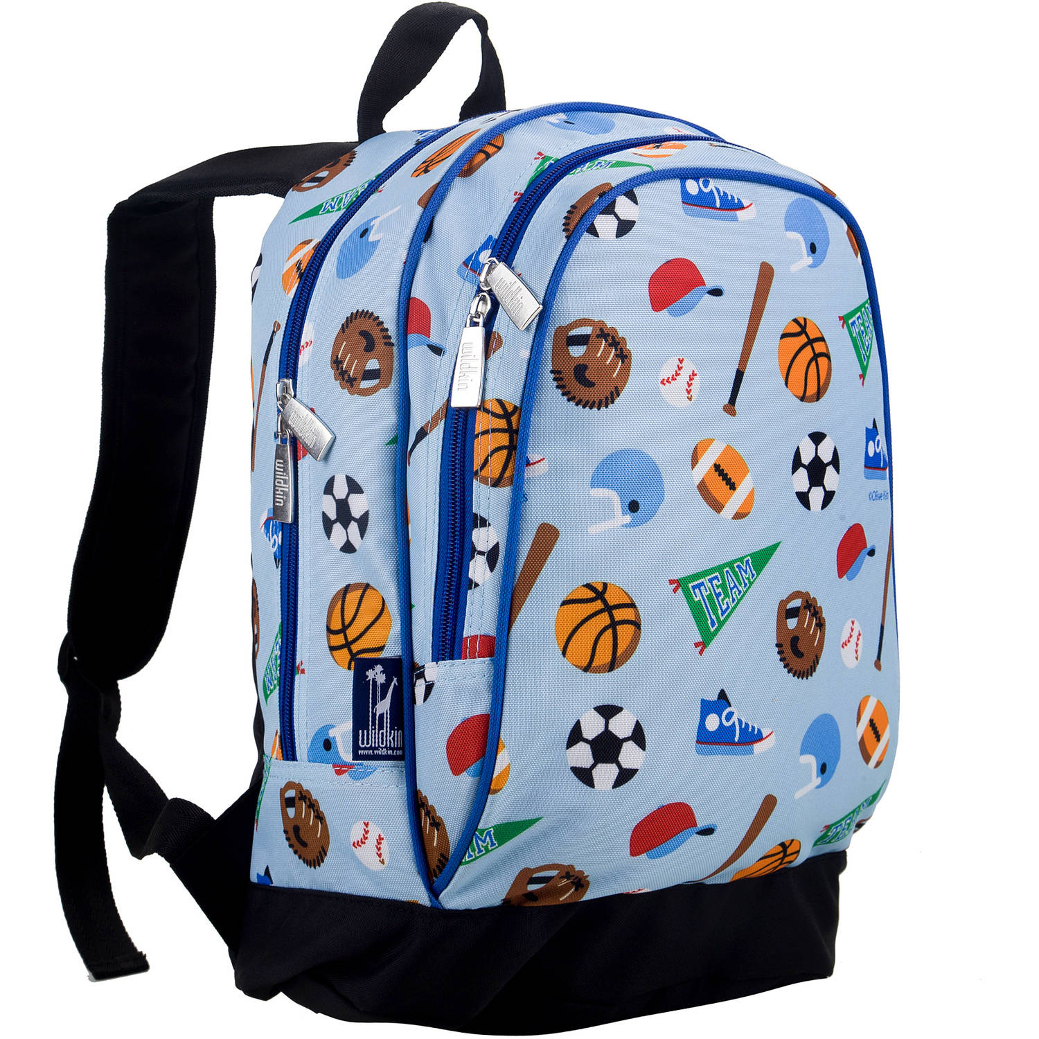 Olive Kids Game On 15 Inch Backpack