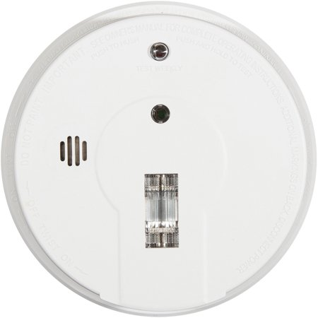 Kidde Hardwire Ionization Smoke Alarm with Safety Light I12080
