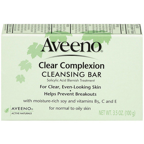 Aveeno(R) Clear Complexion Cleansing Bar Facial Bars 3.5 Oz