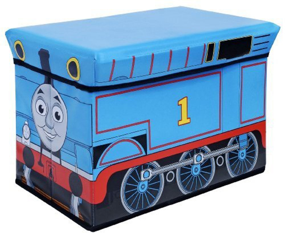 Thomas the Train Kidsu0027 Storage Ottoman Features Thomas train (Engine #1) By Thomas u0026 Friends - Walmart.com  sc 1 st  Walmart & Thomas the Train Kidsu0027 Storage Ottoman Features Thomas train ...