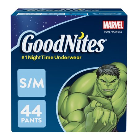 - GoodNites Bedtime Bedwetting Underwear for Boys (Choose Size and Count)