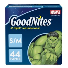 aeb96b68db26b HUGGIES Pull-Ups Boys' Training Pants Night Time Extra Absorbency, Big Pak,  (Choose Your Size)