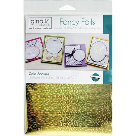 Gina K Designs Fancy Foil 6
