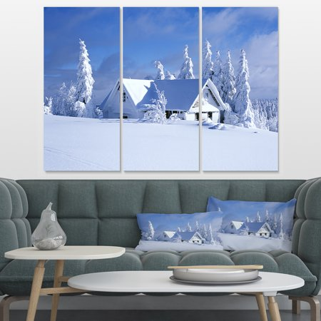 Design Art - Orlicke Hory Cottage in Winter - image 3 de 3