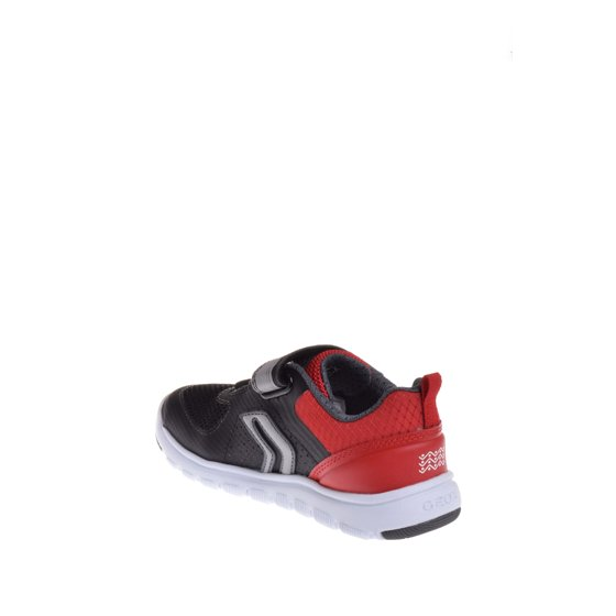52b9a210b7 Geox - Geox Toddler's J Boy Xunday Sneaker - Black / Red - Walmart.com