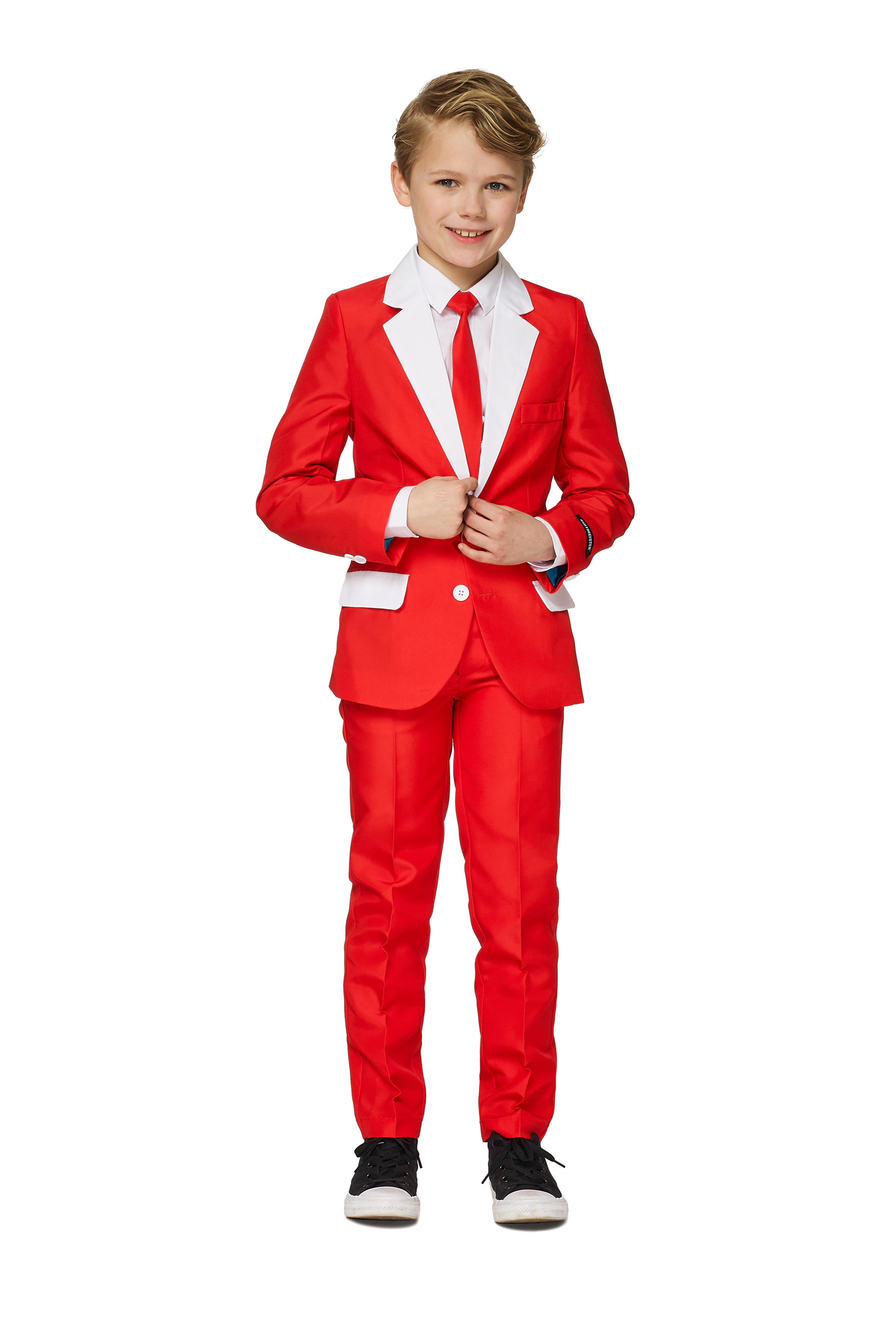 Suitmeister Christmas Suits for Boys in Various Styles Jacket Pants /& Tie
