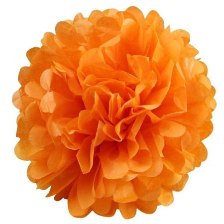 Efavormart 12 PCS Paper Tissue Wedding Birthday Party Banquet Event Festival Paper Flower Pom Pom 12 - Pom Poms Blue And White