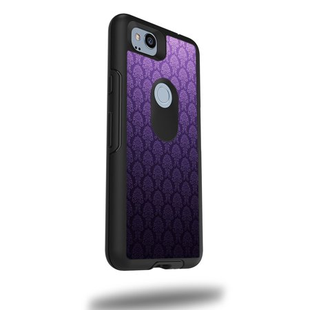 """MightySkins Skin Compatible With OtterBox Symmetry Google Pixel 2 5"""" Case - Antique Purple 
