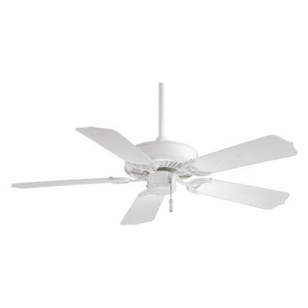 Minka Aire F572-WH Sundance 42 in. Outdoor Ceiling Fan - White Minka White Fan
