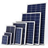Xbubble Polycrystalline Photovoltaic PV Solar Panel Module for 12V Battery Charging
