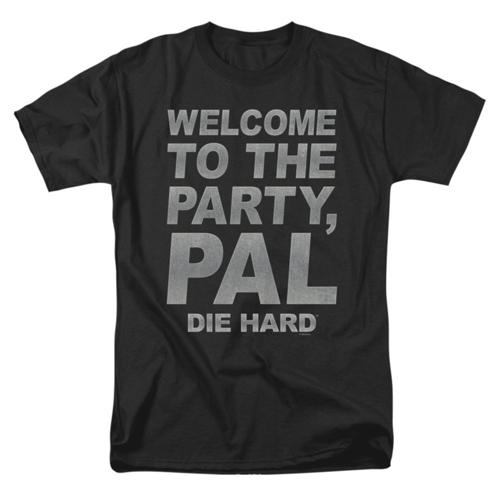 Die Hard Men's  Party Pal T-shirt Black