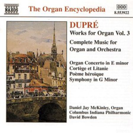 M. Dupre - Dupr : Works for Organ, Vol. 3 [CD]