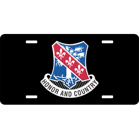 (327th Infantry Brigade License Plate)